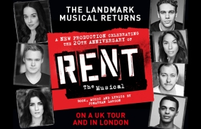 Image result for rent 20th anniversary tour cast